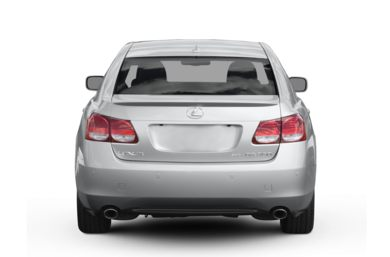 Rear Profile  2007 Lexus GS 430