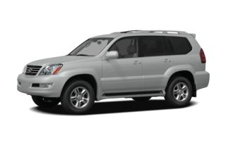 3/4 Front Glamour 2007 Lexus GX 470