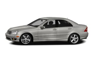 3/4 Front Glamour 2007 Mercedes-Benz C230