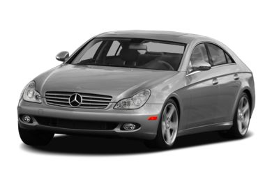 3/4 Front Glamour 2007 Mercedes-Benz CLS550