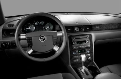 Interior Profile  2007 Mercury Montego