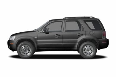 90 Degree Profile 2007 Mercury Mariner