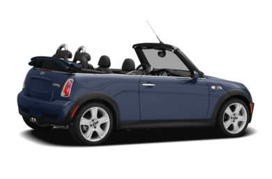 3/4 Rear Glamour  2007 MINI Convertible