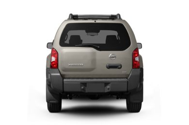 Rear Profile  2007 Nissan Xterra