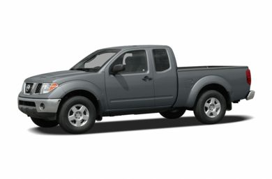 3/4 Front Glamour 2007 Nissan Frontier