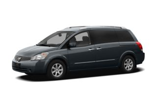 3/4 Front Glamour 2007 Nissan Quest