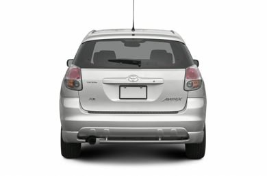 Rear Profile  2007 Toyota Matrix