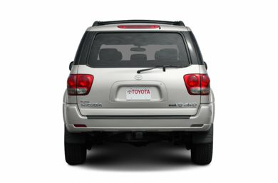Rear Profile  2007 Toyota Sequoia