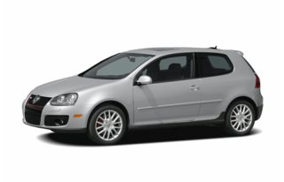 3/4 Front Glamour 2007 Volkswagen GTI