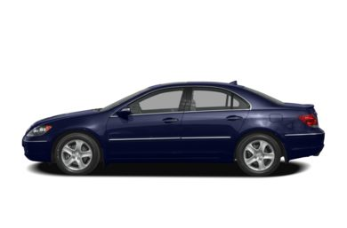 90 Degree Profile 2008 Acura RL