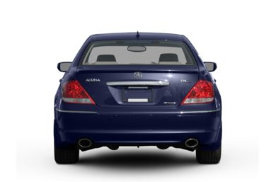 Rear Profile  2008 Acura RL