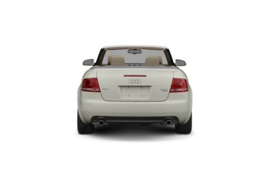 Surround Rear Profile 2008 Audi A4