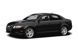 3/4 Front Glamour 2008 Audi A4