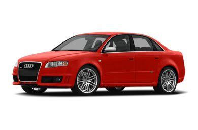 3/4 Front Glamour 2008 Audi RS 4