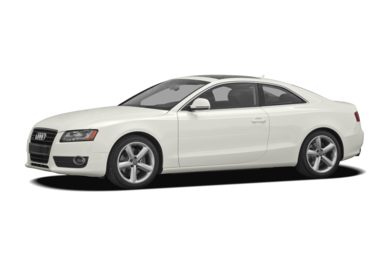 3/4 Front Glamour 2008 Audi A5