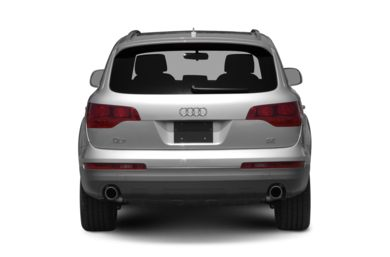 Rear Profile  2008 Audi Q7