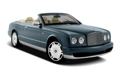 3/4 Front Glamour 2008 Bentley Azure
