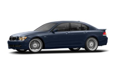 3/4 Front Glamour 2008 BMW ALPINA B7