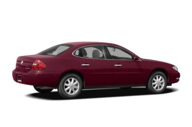 3/4 Rear Glamour  2008 Buick LaCrosse