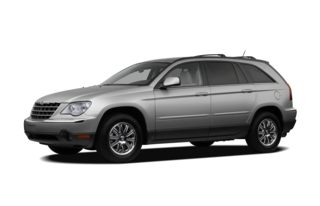 3/4 Front Glamour 2008 Chrysler Pacifica
