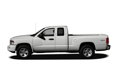 90 Degree Profile 2008 Dodge Dakota