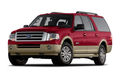 3/4 Front Glamour 2008 Ford Expedition EL