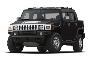 3/4 Front Glamour 2008 HUMMER H2 SUT