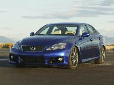 OEM Exterior Primary  2008 Lexus IS-F