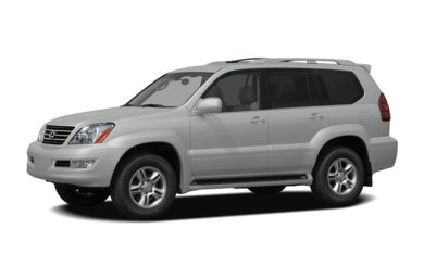 3/4 Front Glamour 2008 Lexus GX 470