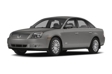 3/4 Front Glamour 2008 Mercury Sable
