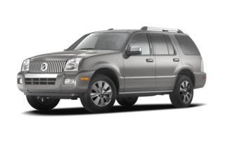 3/4 Front Glamour 2008 Mercury Mountaineer
