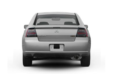 Rear Profile  2008 Mitsubishi Galant