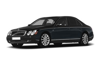 3/4 Front Glamour 2008 Maybach 57