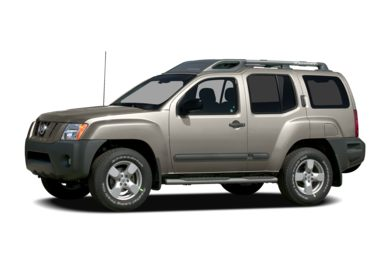 3/4 Front Glamour 2008 Nissan Xterra