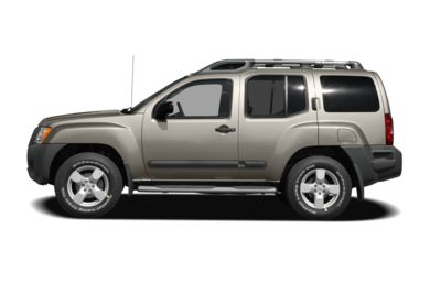 90 Degree Profile 2008 Nissan Xterra