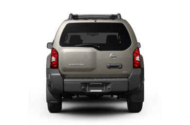 Rear Profile  2008 Nissan Xterra