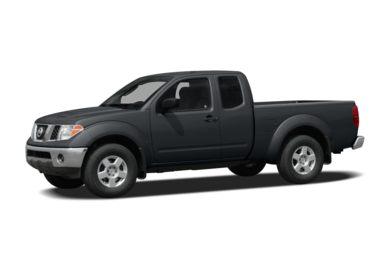 3/4 Front Glamour 2008 Nissan Frontier