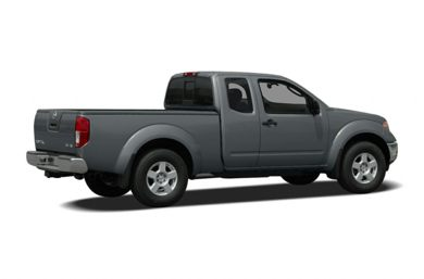 3/4 Rear Glamour  2008 Nissan Frontier