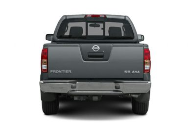 Rear Profile  2008 Nissan Frontier