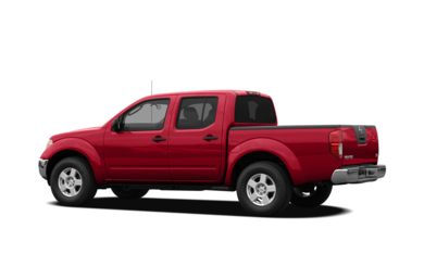Surround 3/4 Rear - Drivers Side  2008 Nissan Frontier