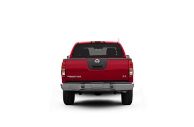 Surround Rear Profile 2008 Nissan Frontier