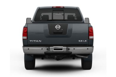 Rear Profile  2008 Nissan Titan