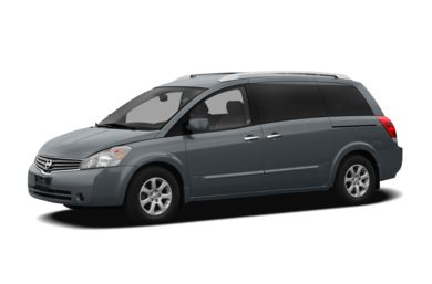 3/4 Front Glamour 2008 Nissan Quest