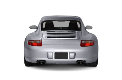 Rear Profile  2008 Porsche 911