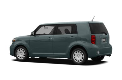 Surround 3/4 Rear - Drivers Side  2008 Scion xB
