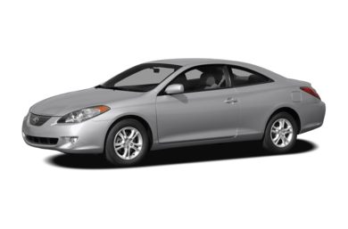 3/4 Front Glamour 2008 Toyota Camry Solara