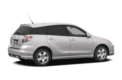 3/4 Rear Glamour  2008 Toyota Matrix