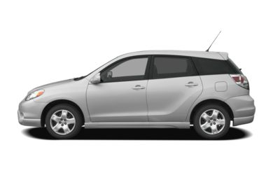 90 Degree Profile 2008 Toyota Matrix