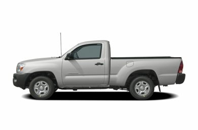 90 Degree Profile 2008 Toyota Tacoma
