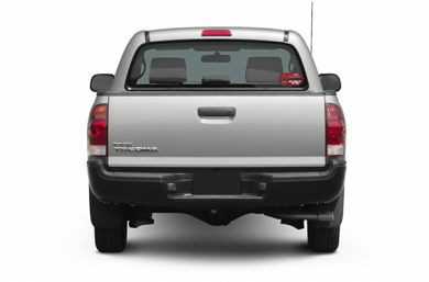 Rear Profile  2008 Toyota Tacoma